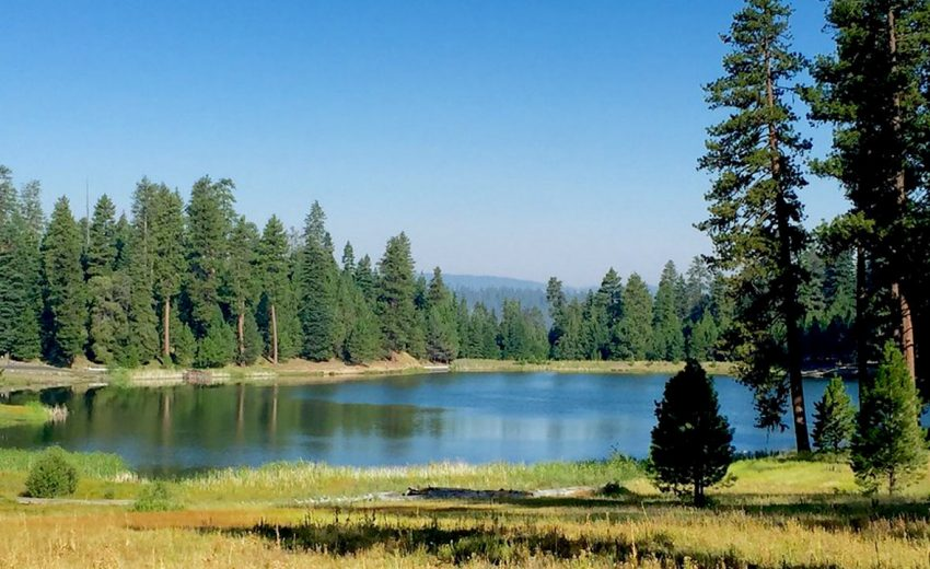 Walton Lake in Crook County, Oregon