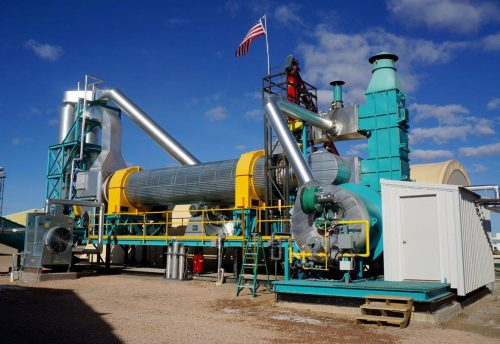 torrefication machine biomass forest products